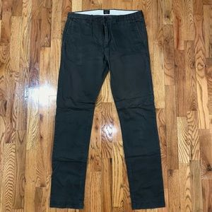 J Crew Slim Fit Chino Pants